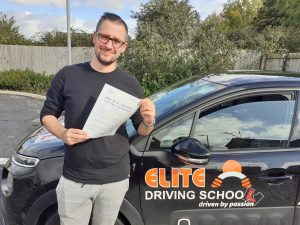 passing the driving test Jakob Orlowski