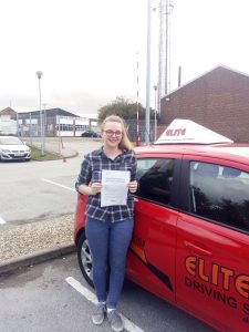 Passing the driving test abby jenkinson