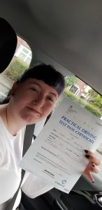 Passing the driving test alishea Jackson