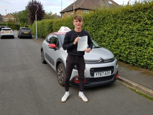 Passing the driving test chris annis
