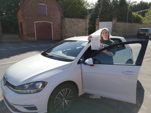assing the driving test megan brown