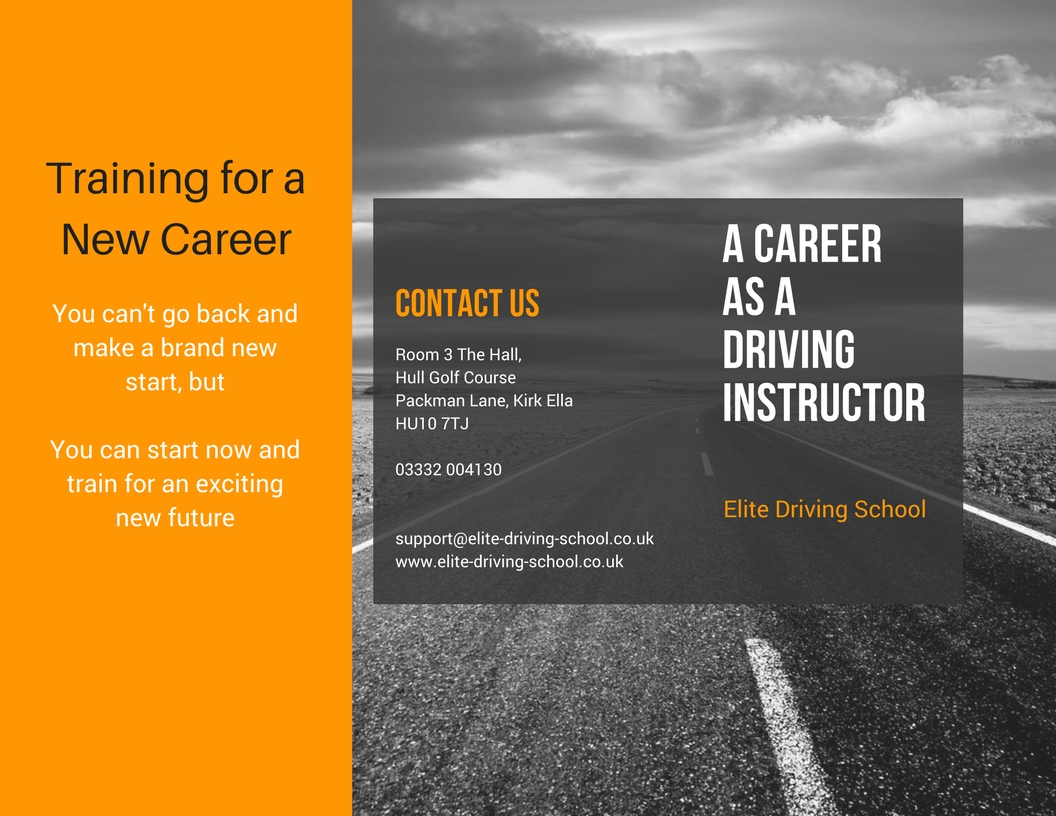 become a driving instructer