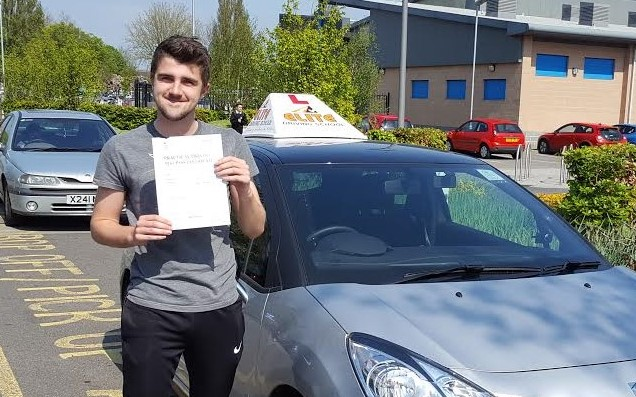 This is Ben Annis who took his driving lessons in York