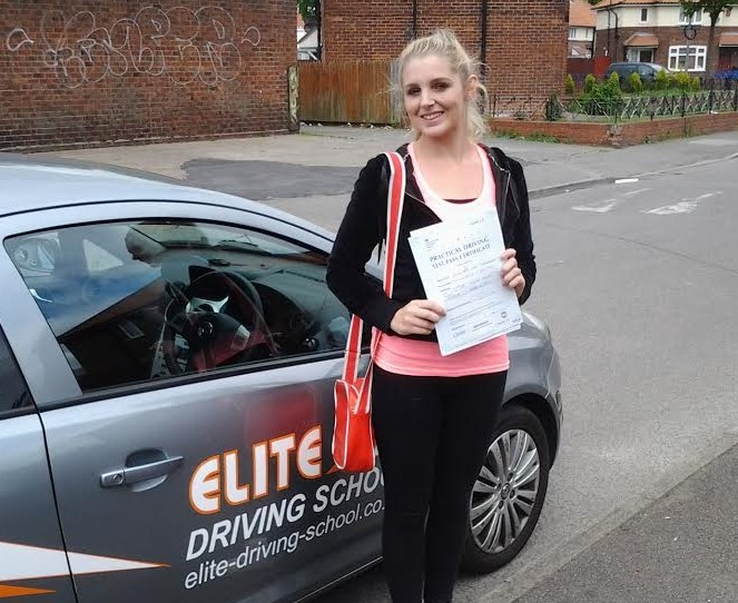 This is Phillippa Thackeray who took her driving lessons in York