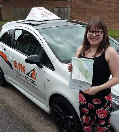 This is Rachael who took her driving lessons in Hull