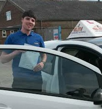 This is Alix Garrod who took his driving lessons in Hull