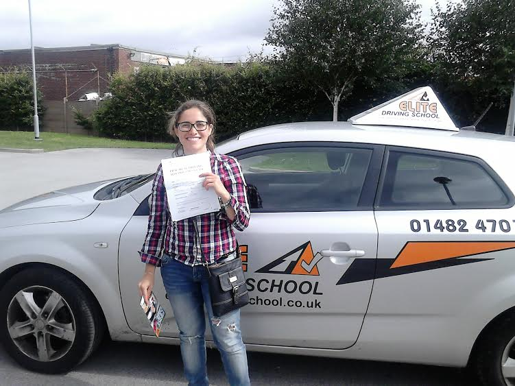This is Almar Kseibi who took her driving lessons in Hull
