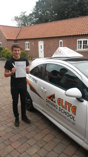 This is Benjamin Fenwick who took his driving lessons in Hull