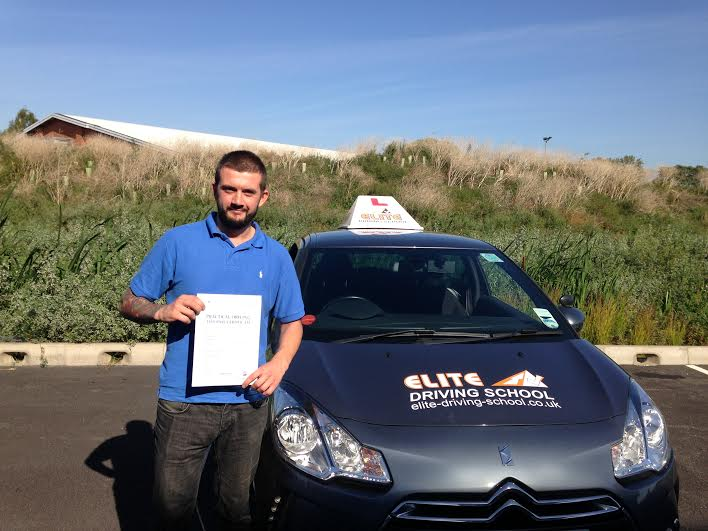 This is Dan Hairsine who took his driving lessons in Hull