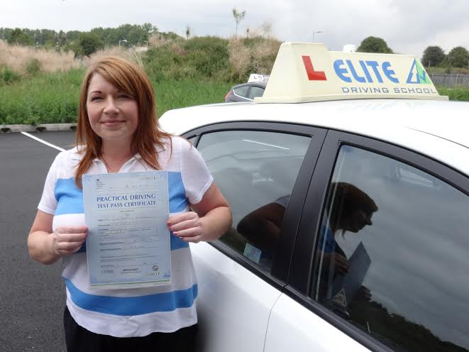 This is Julia Broadley who took her driving lessons in Hull