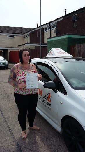 This is Kerry Larter who took her driving lessons in York