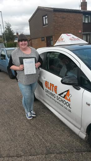 This is Kirsty-Mae Windass who took her driving lessons in York