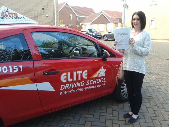 This is Lynsey Tulley who took her driving lessons in Hull