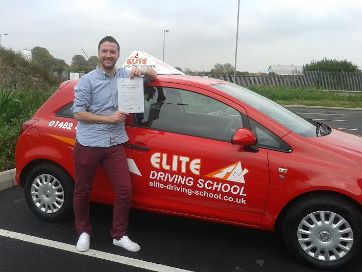 This is Danny (Paul) Sheehan who took his driving lessons in Hull