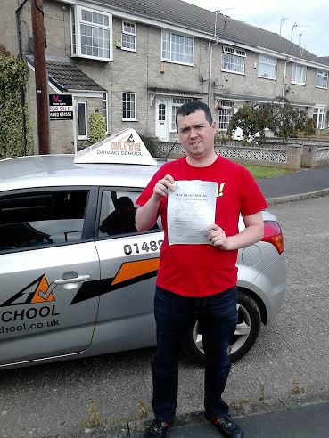 This is Gareth Cooper who took his driving lessons in York