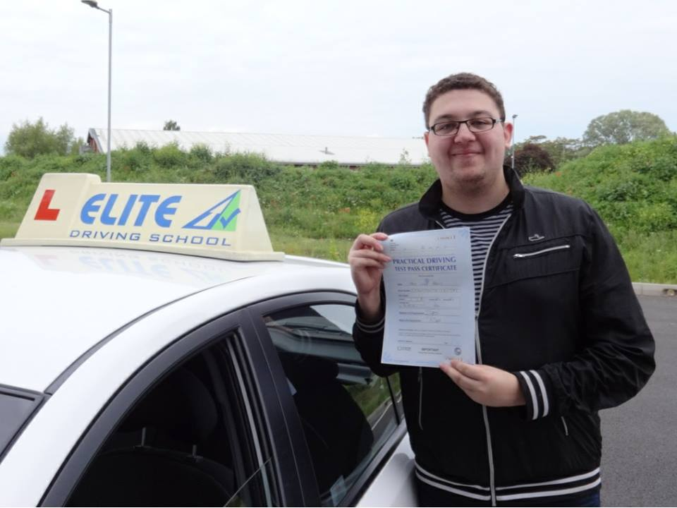 This is Jamie Francis who took his driving lessons in Hull