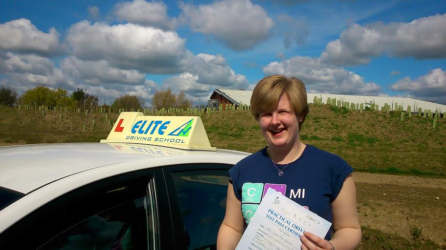 This is Jessica Benton who took driving lessons in Hull