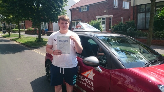 This is Joe Anson who took his driving lessons in Hull