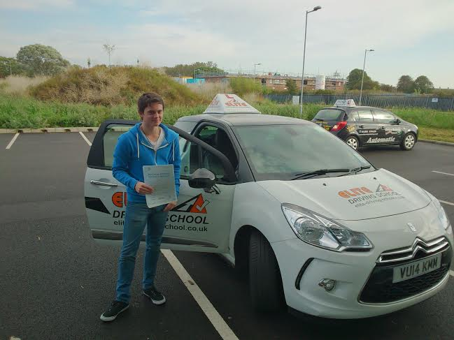 This is Michael Lee who took his driving lessons in York