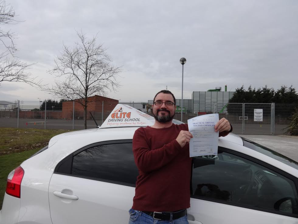 This is Mike Dearing who took his driving lessons in Hull