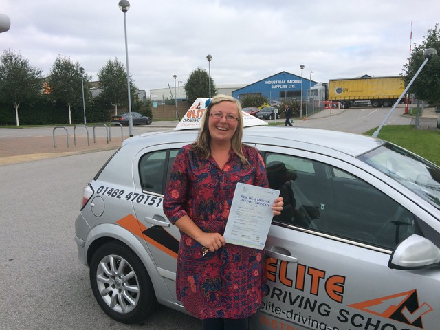 This is Nicola Rushton who took her driving lessons in York