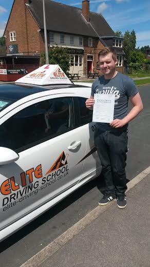This is Richard Rodmell who took his driving lessons in Hull