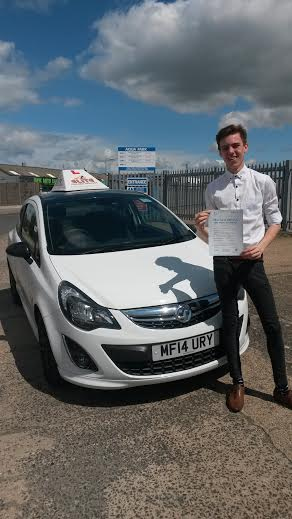 This is Tom Jagger who took his driving lessons in Hull