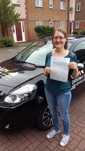 This is Zoe Fitch who took her driving lessons in York