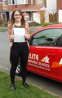 This is Anna Stephenson who took her driving lessons in York