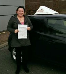 This is Emmeline Hopkins who took her driving lessons in Hull