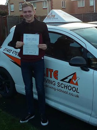 This is Jordan Stratton who took his driving lessons in Hull