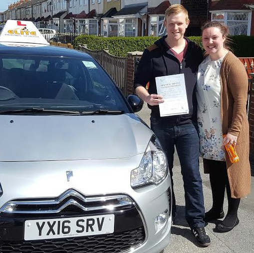 This is Peter Cox who took his driving lessons in York