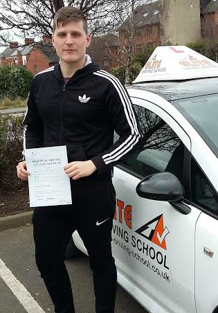 This is William McGregor who took his driving lessons in York