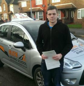 This is Connor Murray who took his driving lessons in Hull