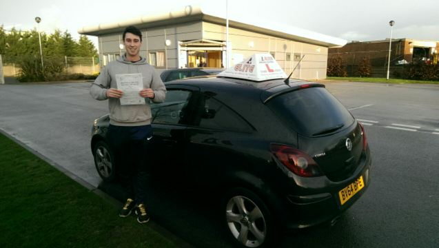 This is Kieran King who took his driving lessons in Hull