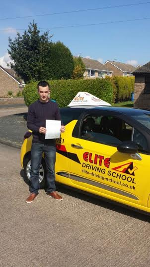 This is Liam Thompson who took his driving lessons in Hull
