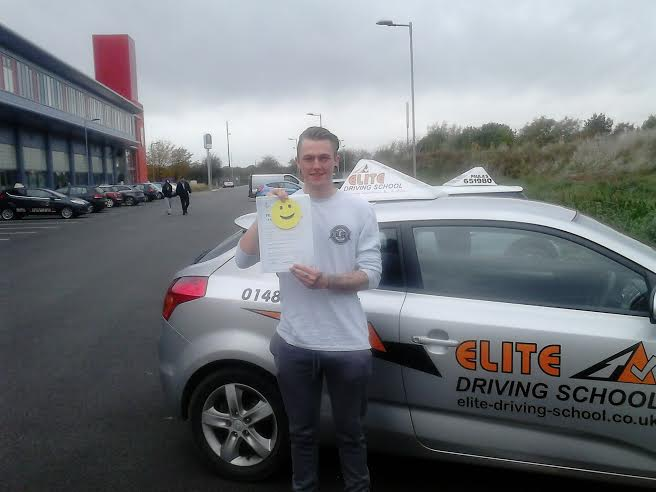 This is Daniel Shepherdson who took his driving lessons in Hull