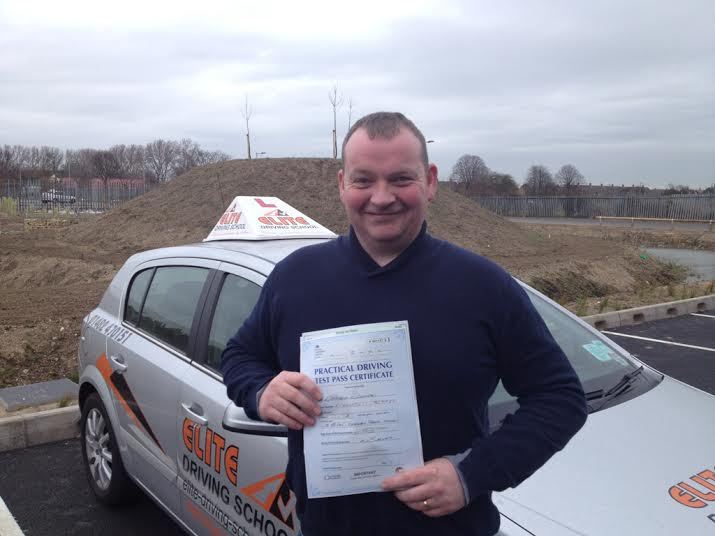 This is Richard Kirkham who took his driving lessons in Hull