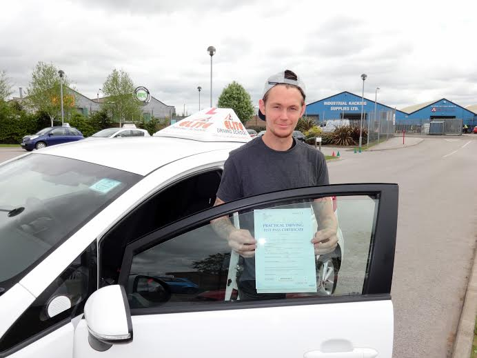 This is Sam Williams who took his driving lessons in York