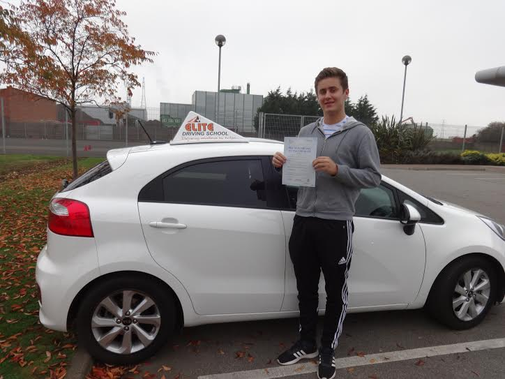 This is Tom Wright who took his driving lessons in Hull