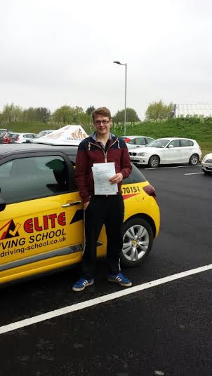 This is Tom Smith who took his driving lessons in Hull