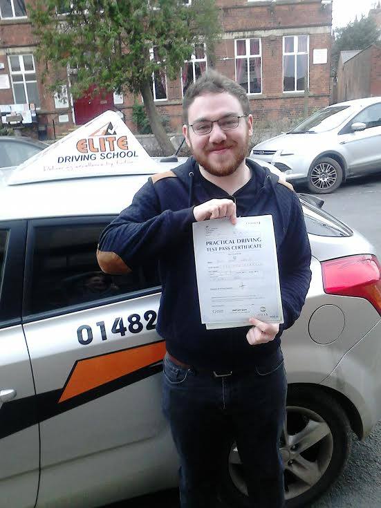 This is Ross Herring who took his driving lessons in York