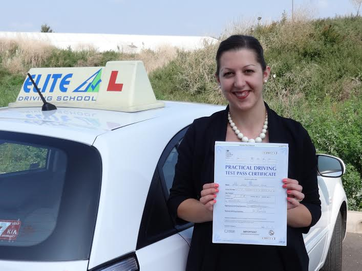This is Katie Firth who took her driving lessons in Hull