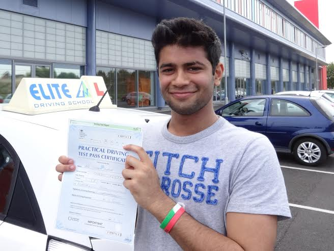 This is Sid Sharma who took his driving lessons in Hull