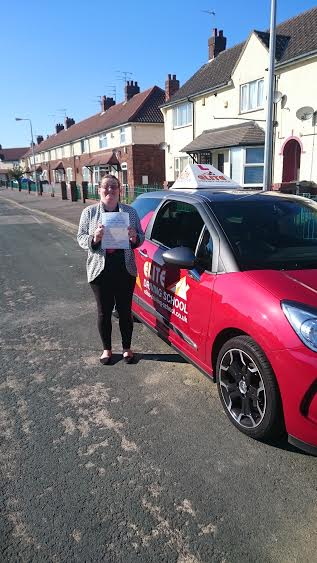 This is Chantelle Todd who took her driving lessons in York