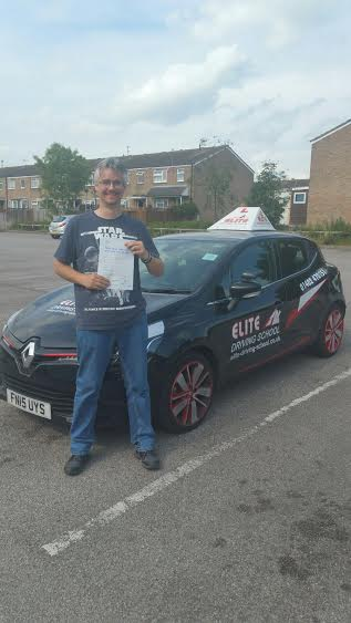 This is Daniel Allen who took his driving lessons in York