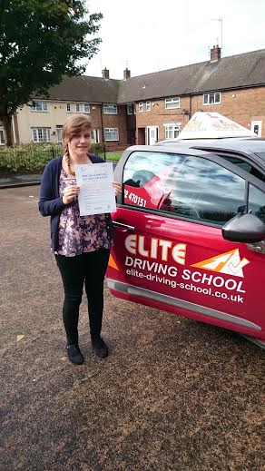 This is Danielle Marshall who took her driving lessons in York
