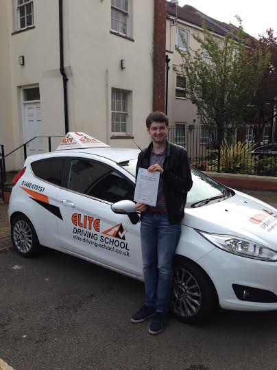 This is Jason Byrne who took his driving lessons in Hull