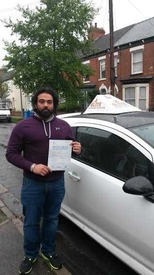 This is Jody Opperman who took his driving lessons in York