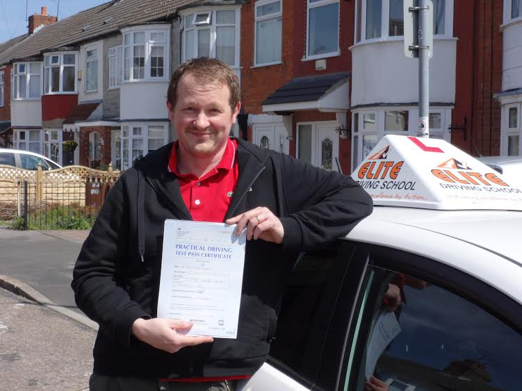 This is John Angel who took his driving lessons in Hull